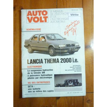 Thema 2000 i.e Revue Technique Electronic Auto Volt Lancia