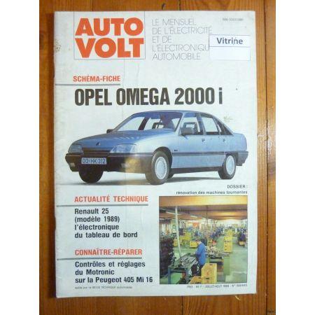 Omega 2000i Revue Technique Electronic Auto Volt Opel
