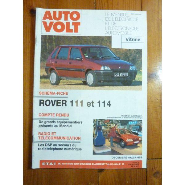 111 114 Revue Technique Electronic Auto Volt Rover