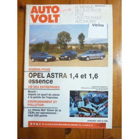 Astra Ess Revue Technique Electronic Auto Volt Opel