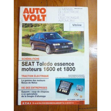 Toledo 1.6 1.8 Revue Technique Electronic Auto Volt Seat