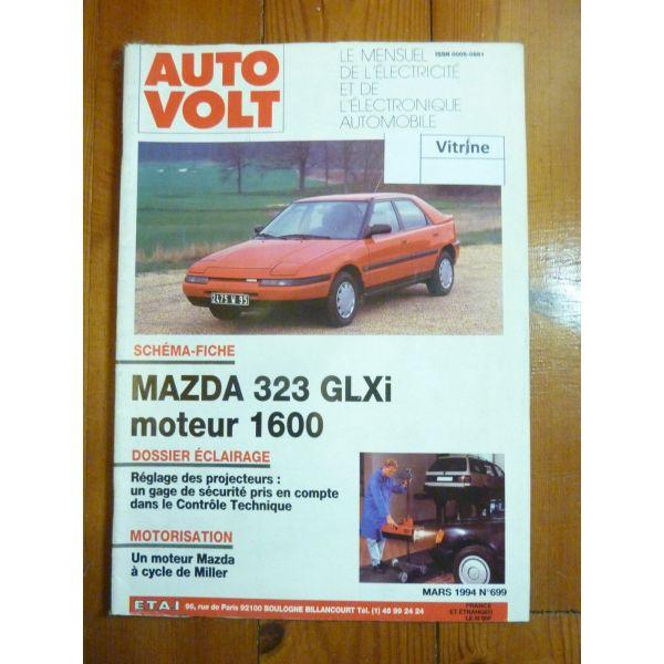 323 1.6 GLXi Revue Technique Electronic Auto Volt Mazda