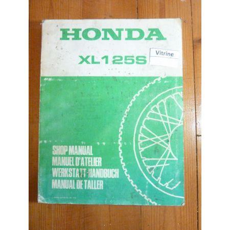 XLS125 Manuel HONDA