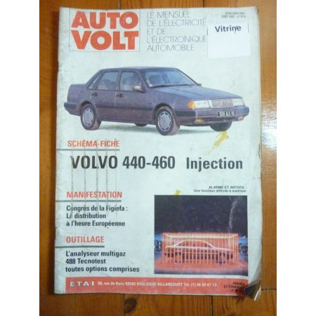 440-460 Revue Technique Electronic Auto Volt Volvo