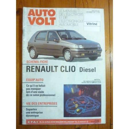 Clio Die Revue Technique Electronic Auto Volt Renault