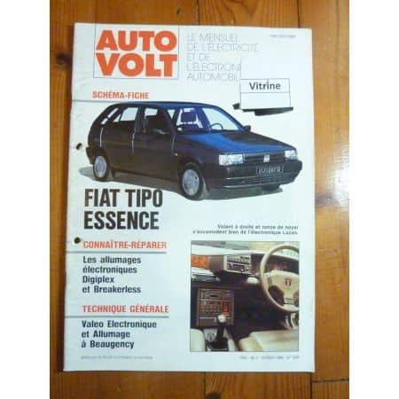 Tipo Ess Revue Technique Electronic Auto Volt Fiat