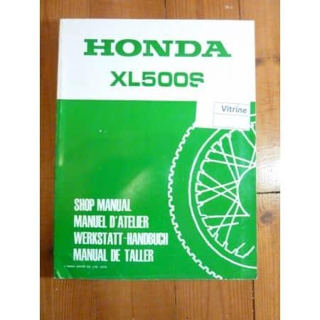 XLS500 Manuel HONDA