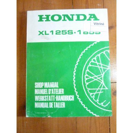 XLS125 1255 Manuel HONDA