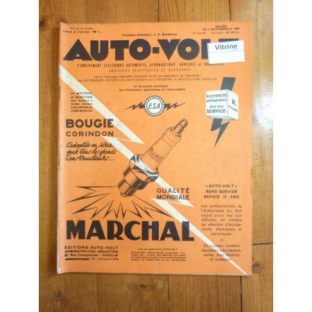 203 Revue Technique Electronic Auto Volt Peugeot