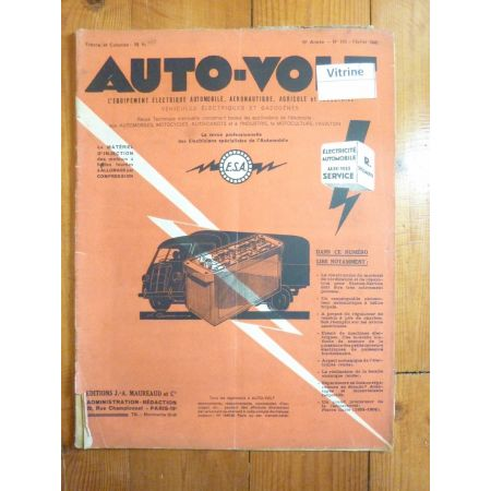 Magazine 0170 Revue electronic Auto Volt