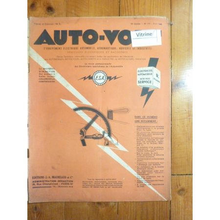 Magazine 0172 Revue electronic Auto Volt