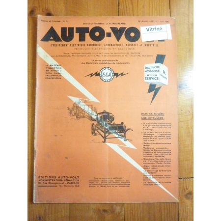 Magazine 0174 Revue electronic Auto Volt