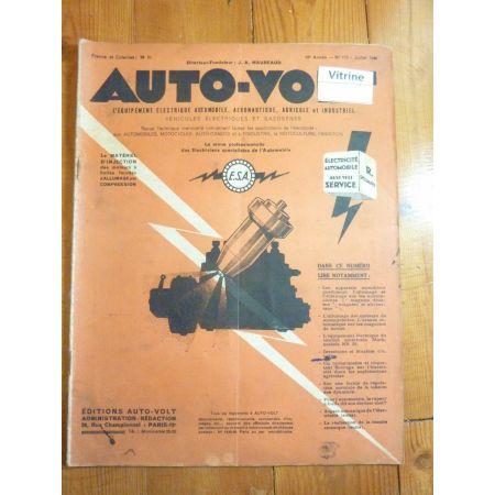 Magazine 0175 Revue electronic Auto Volt