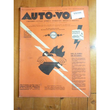 Magazine 0177 Revue electronic Auto Volt