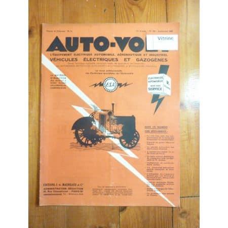 Magazine 0165 Revue electronic Auto Volt
