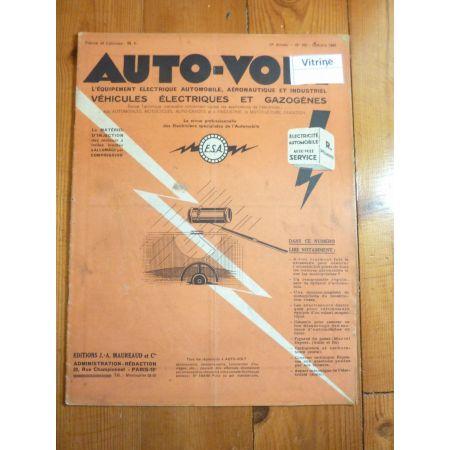 Magazine 0166 Revue electronic Auto Volt