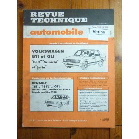 GOLF JETTA GTI GLI Revue Technique Volkswagen