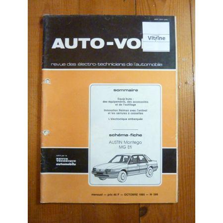 Montego Efi Revue Technique Electronic Auto Volt Austin