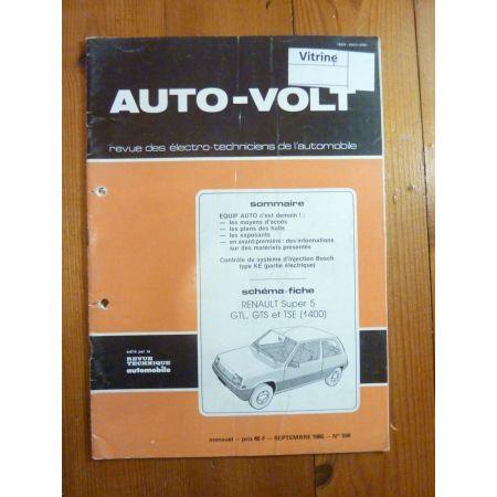 Super 5 1.4 Revue Technique Electronic Auto Volt Renault
