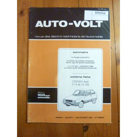 Axel 11 12 Revue Technique Electronic Auto Volt Citroen