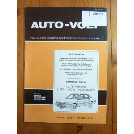 Montego Revue Technique Electronic Auto Volt Austin