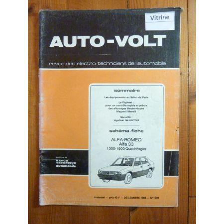 33 quadrifoglio Revue Technique Electronic Auto Volt Alfa Romeo