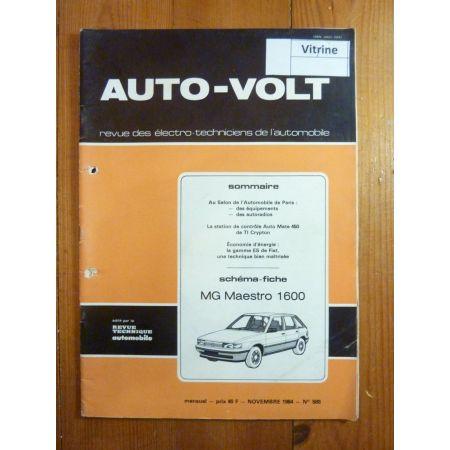 Maestro 1.6 Revue Technique Electronic Auto Volt Austin