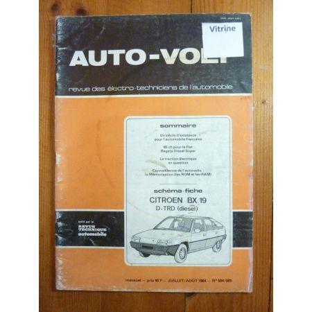 BX19 Die Revue Technique Electronic Auto Volt Citroen