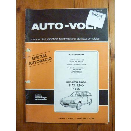 Uno 45 Ess Revue Technique Electronic Auto Volt Fiat