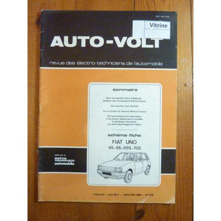Uno Revue Technique Electronic Auto Volt Fiat