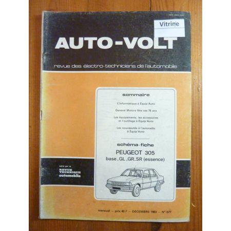 305 Ess Revue Technique Electronic Auto Volt Peugeot