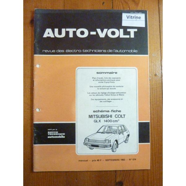Colt GLX 1.4 Revue Technique Electronic Auto Volt Mitsubishi