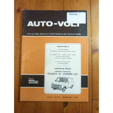 J5 C25 Revue Technique Electronic Auto Volt Citroen
