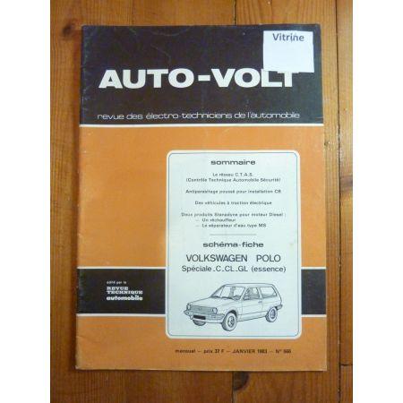 Polo Ess Revue Technique Electronic Auto Volt Volkswagen