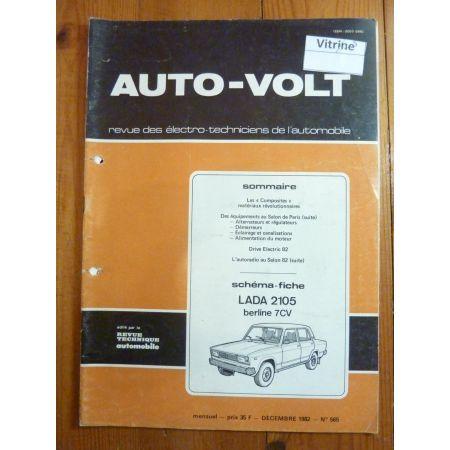 2105 7cv Revue Technique Electronic Auto Volt Lada
