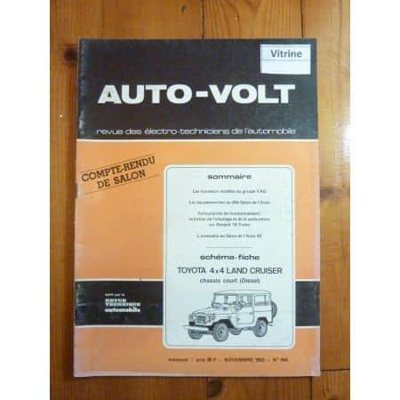Land Cruiser D Revue Technique Electronic Auto Volt Toyota