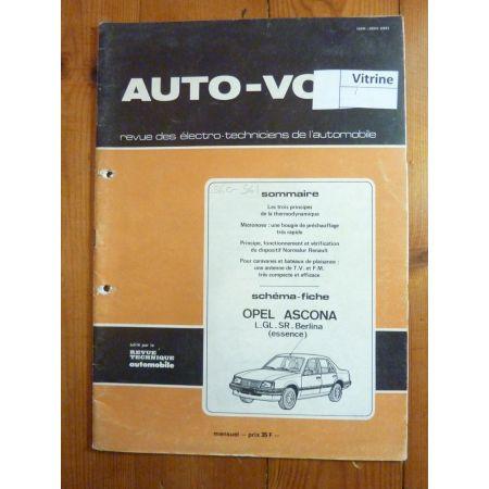 Ascona Ess Revue Technique Electronic Auto Volt Opel