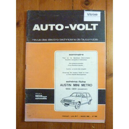 Metro Revue Technique Electronic Auto Volt Austin