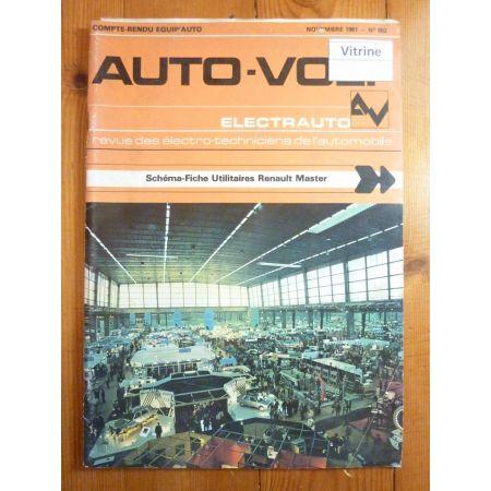 Master Revue Technique Electronic Auto Volt Renault
