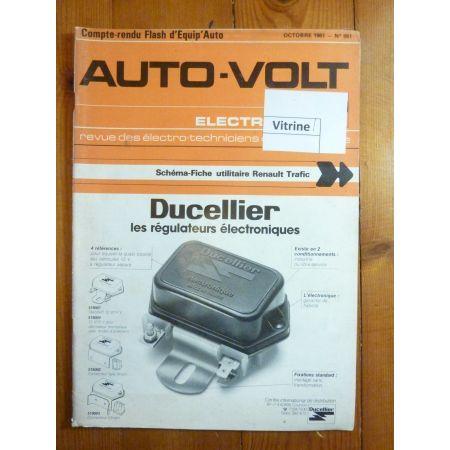 Trafic Revue Technique Electronic Auto Volt Renault