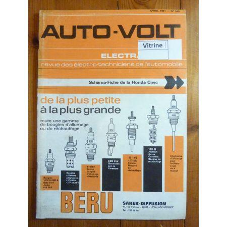 Civic Revue Technique Electronic Auto Volt Honda