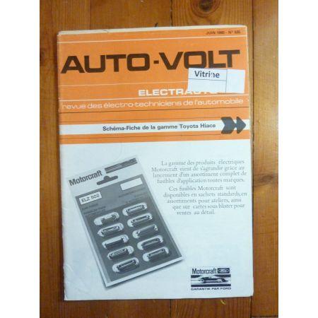 Hiace Revue Technique Electronic Auto Volt Toyota