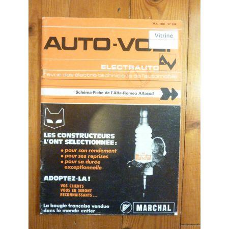 AlfaSud Revue Technique Electronic Auto Volt Alfa Romeo