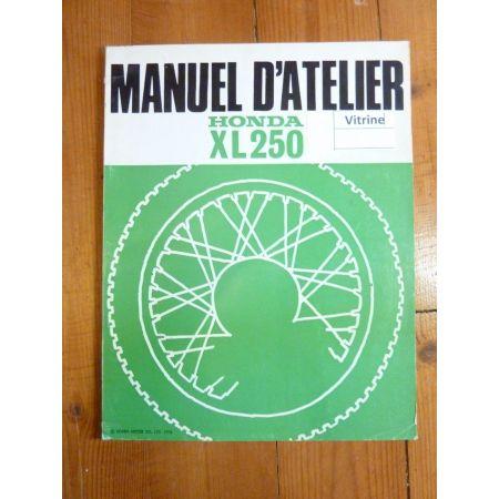 XL250 72- Manuel HONDA