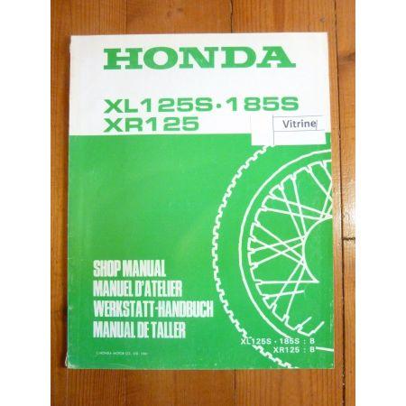 XLS 125-185 - XR 125 Manuel HONDA