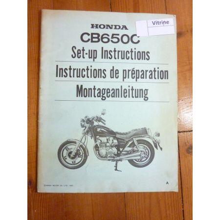 CB 650 C Manuel HONDA