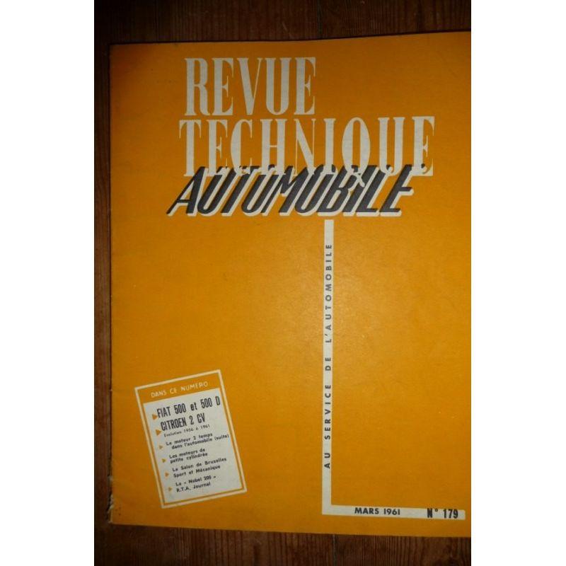 rta revues techniques fiat 500 500d et citroen 2cv de. Black Bedroom Furniture Sets. Home Design Ideas