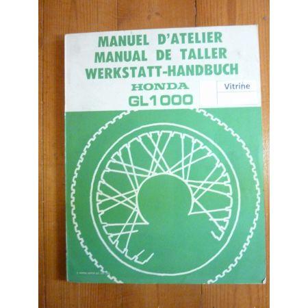 GL1000 GoldWing 75- Manuel HONDA