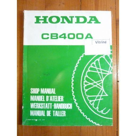 CB 400 A Manuel HONDA