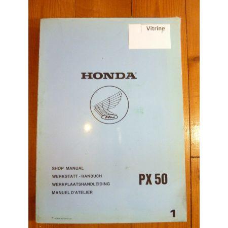 PX50 Manuel HONDA